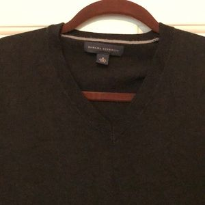 Men's Banana Republic Black Sweater